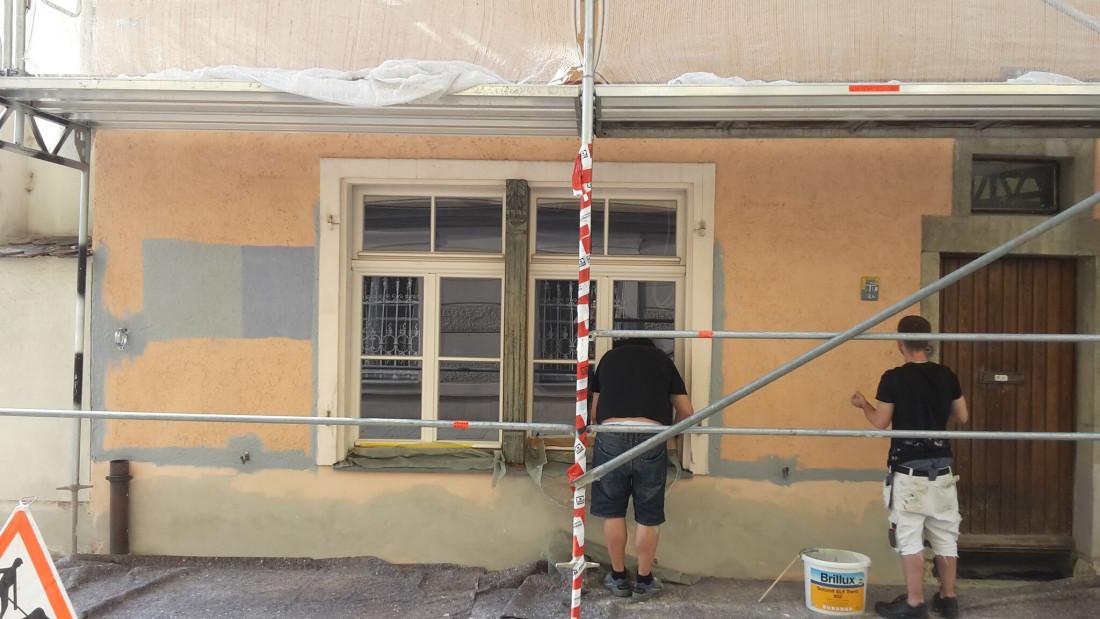 Umbau Backstube Weitoldstraße